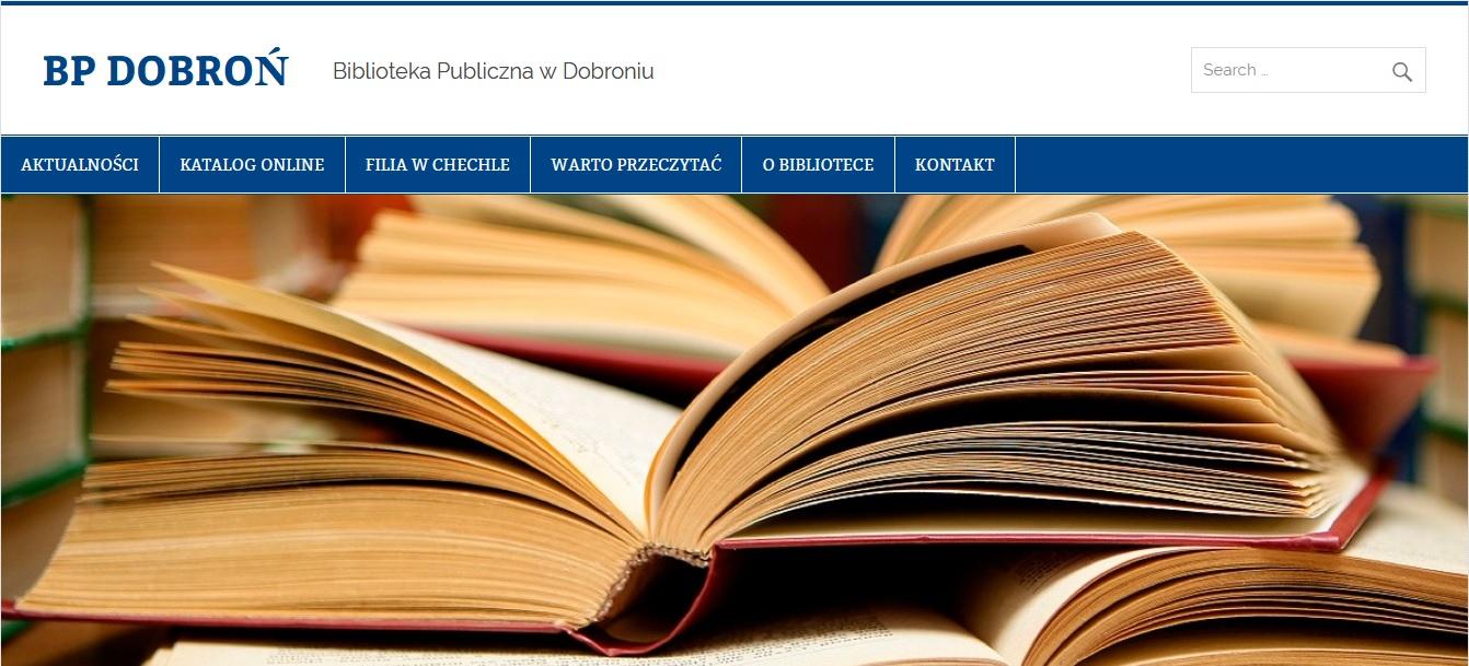 Bibliotek publiczna w Dobroniu